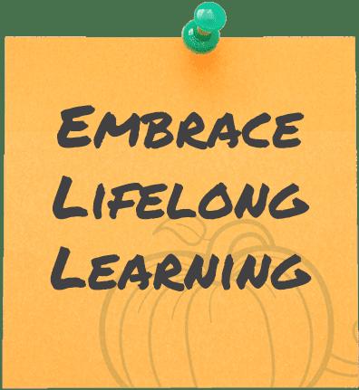 Embrace Lifelong Leanring